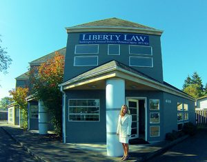 Liberty Law LLC office and Maria Stirbis